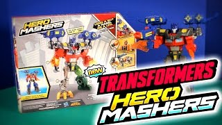 Watch as I inbox TRANSFORMERS OPTIMUS PRIME HERO MASHERS by Hasbro.  Suitable for kids ages 4 and up.Music By Kevin Macleod (Disco con Tutti)