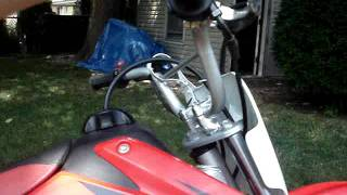 10. 2006 Honda Crf 70f Start up