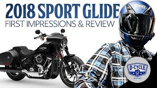 8. 2018 Harley-Davidson Sport Glide | First Impressions & Review