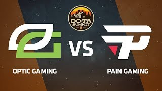 OpTic Gaming против Pain Gaming, Вторая карта, DOTA Summit 9 LAN-Final