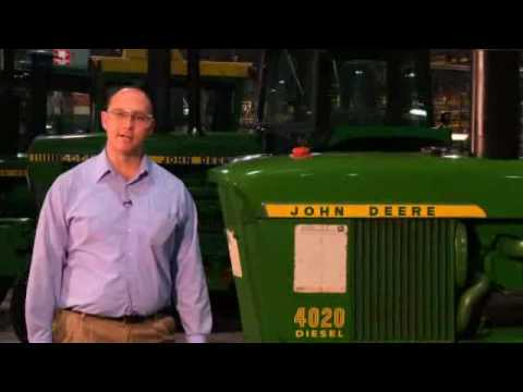4020 - Brian Holst of John Deere gives us a tour of an original 4020 tractor that has never left the factory. He walks us through the specs of model 4020 as well as...