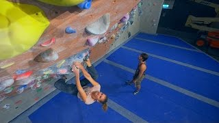 We Are Climbing With The Dream Team Today - Hannes And Norea! (part 1) by Eric Karlsson Bouldering