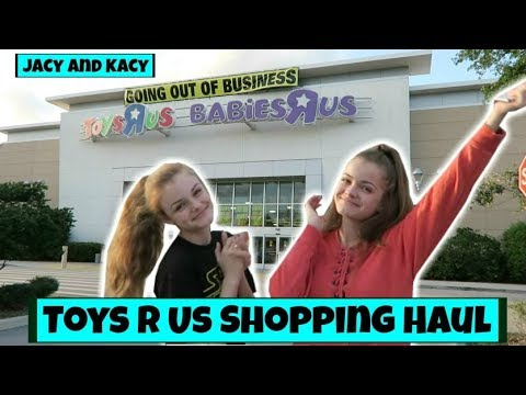 Toys R Us Closing Shopping Haul ~ Jacy and Kacy