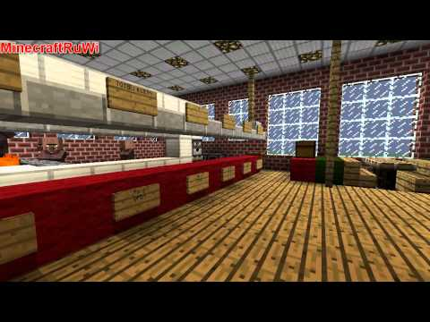 Minecraft McDonald's Modern Style (McRuWi) NEW DOWNLOAD LINK