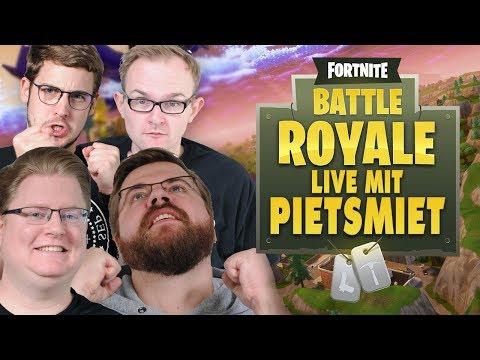 Fortnite Battle Royal mit PietSmiet Live!