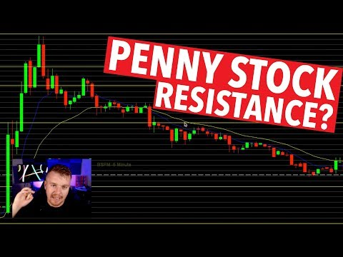 PENNY STOCK PUMP CHART RESISTANCE?