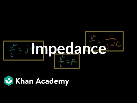 Impedance video ac circuit analysis khan academy ccuart Choice Image