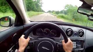 2013 Jaguar XJ AWD - WINDING ROAD POV Test Drive