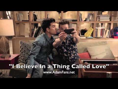 Glee cast ft Adam Lambert – I Believe In a Thing Called Love [HQ audio]