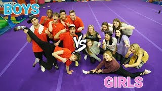 GIRLS vs. GUYS DANCE Challenge!