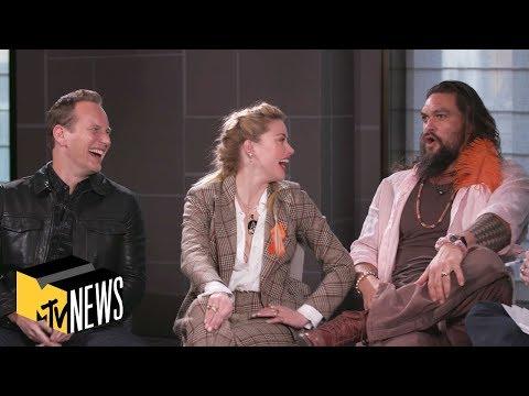'Aquaman' Cast on Keeping Secrets, Aquababies & 'The Snyder Cut'   MTV News