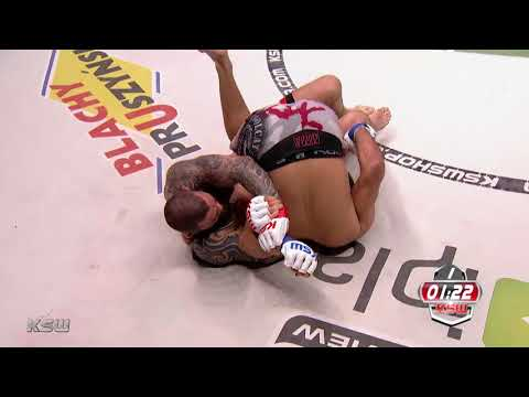 KSW Free Fight: Michał Materla vs Paulo Thiago at KSW 40 (видео)