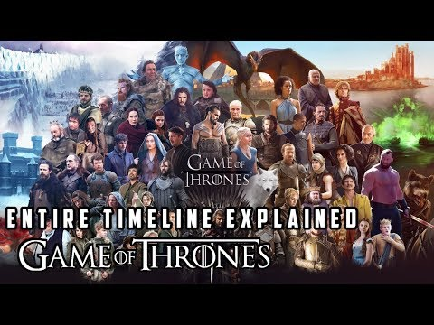 The Entire Game Of Thrones Timeline Explained In Hindi !
