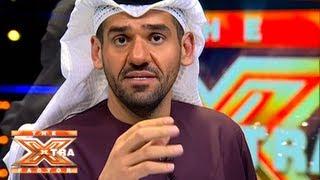 تواصل حسين الجسمي مع الجمهور- الحلقة الخامسة - The XTRA Factor 2013