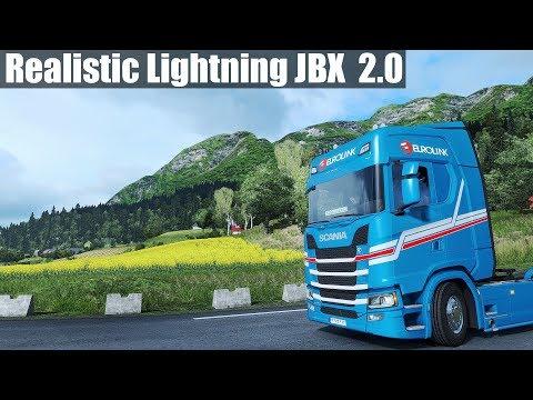 [ATS] Realistic Lightning JBX v2.0 1.31.x