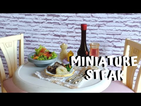 MINI COOKING - MINIATURE STEAK