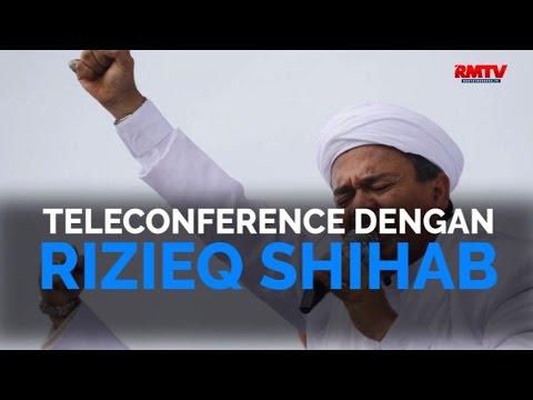 Teleconference Dengan Rizieq Shihab