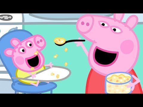 Peppa Pig English Episodes  Baby Alexander's Bath Time With Peppa Pig!  Peppa Pig Official