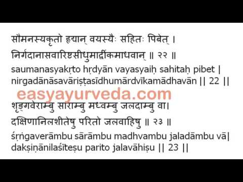 Video Ashtanga Hruday Sutrasthana 3rd Chapter Shloka Recitation download in MP3, 3GP, MP4, WEBM, AVI, FLV January 2017