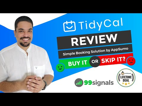 Watch 'TidyCal Review and Demo: Scheduling Solution by AppSumo [Buy it or Skip it?] '