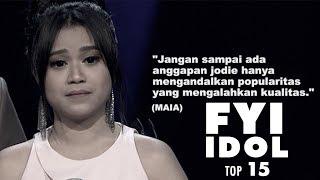 """Video FYI IDOL """"TOP 15  Maia Takut Jodie Hanya Mengandalkan Popularitas"""" MP3, 3GP, MP4, WEBM, AVI, FLV November 2018"""