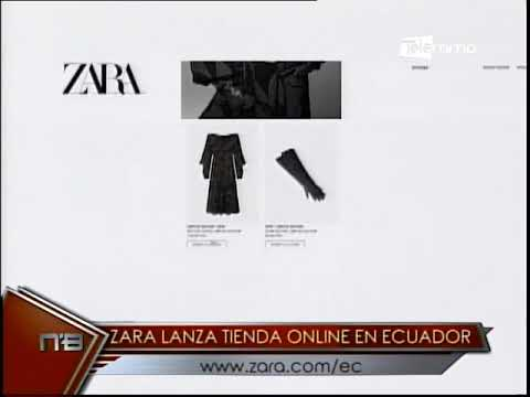 Zara lanza tienda online en Ecuador www.zara.com/ec