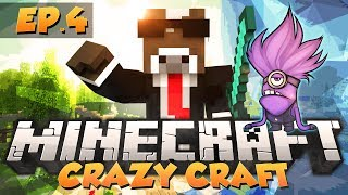 "Minecraft ""EVIL MINION ARMY"" - CRAZY CRAFT Modded Survival - Ep. 4 ( Crazy Craft Part 4 )"