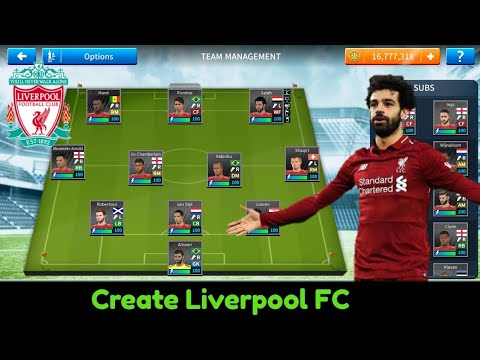 Create Liverpool FC Team [ Kit Logo & Players]