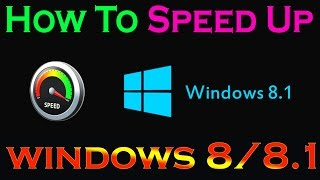 In this easy video tutorial I will show you very easy six steps about how to speed up your PC. Do these six steps to increase your computer speed which also helps to increase you internet speed too. See how to speed up your laptop performance, it works in all windows but I specially made this video for Windows 8 & 8.1. You will gain computer performance increase in gaming and greatly shorten boot up time or start up time. By doing these simple six steps you will speed your computer up now without losing your any files.Fix your slow running computer, these tips are easy to perform even a non tech person can speed up their slow running computer.