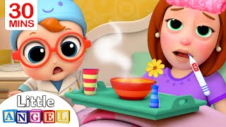 Video Mommy Got Sick | Sick Song | Little Angel Kids Songs & Nursery Rhymes MP3, 3GP, MP4, WEBM, AVI, FLV Juli 2019