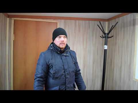 Видео Бытовка для омского КАЗАЧЕСТВА