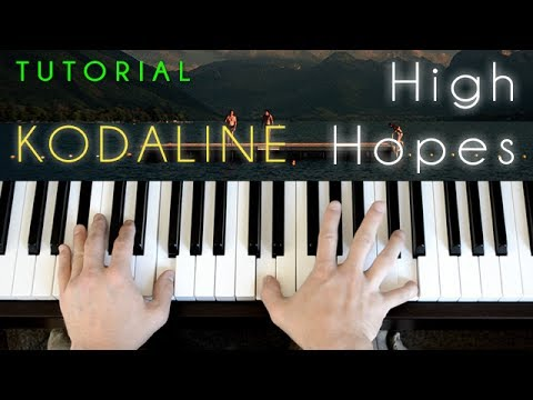 High Hopes - Kodaline video tutorial preview