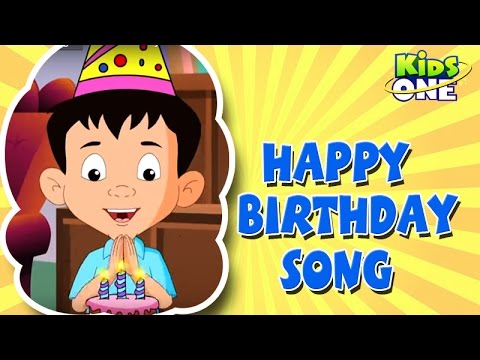 Happy Birthday  Nursery Rhymes  English Animated Rhymes