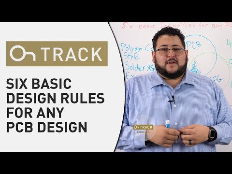Six Basic Design Rules for Any PCB Design - OnTrack