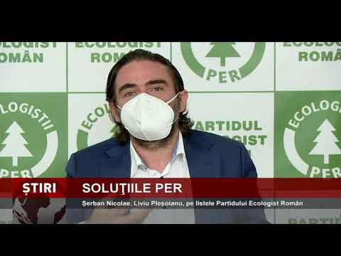 Şerban Nicolae, Liviu Pleşoianu, pe listele Partidului Ecologist Român