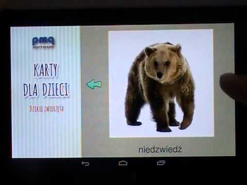 Video of Karty dla dzieci, polski