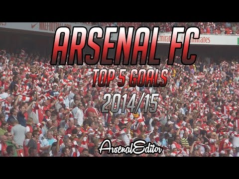 arsenal top five goal 2015