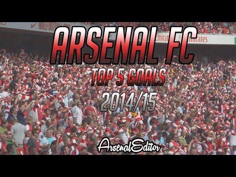 arsenal top five goal 2015