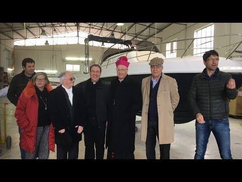 Mons. Giombanco, dopo le Parrocchie inizia a visitare le aziende della Diocesi.