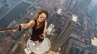 Video girl falls off building after taking a selfie.. MP3, 3GP, MP4, WEBM, AVI, FLV November 2017