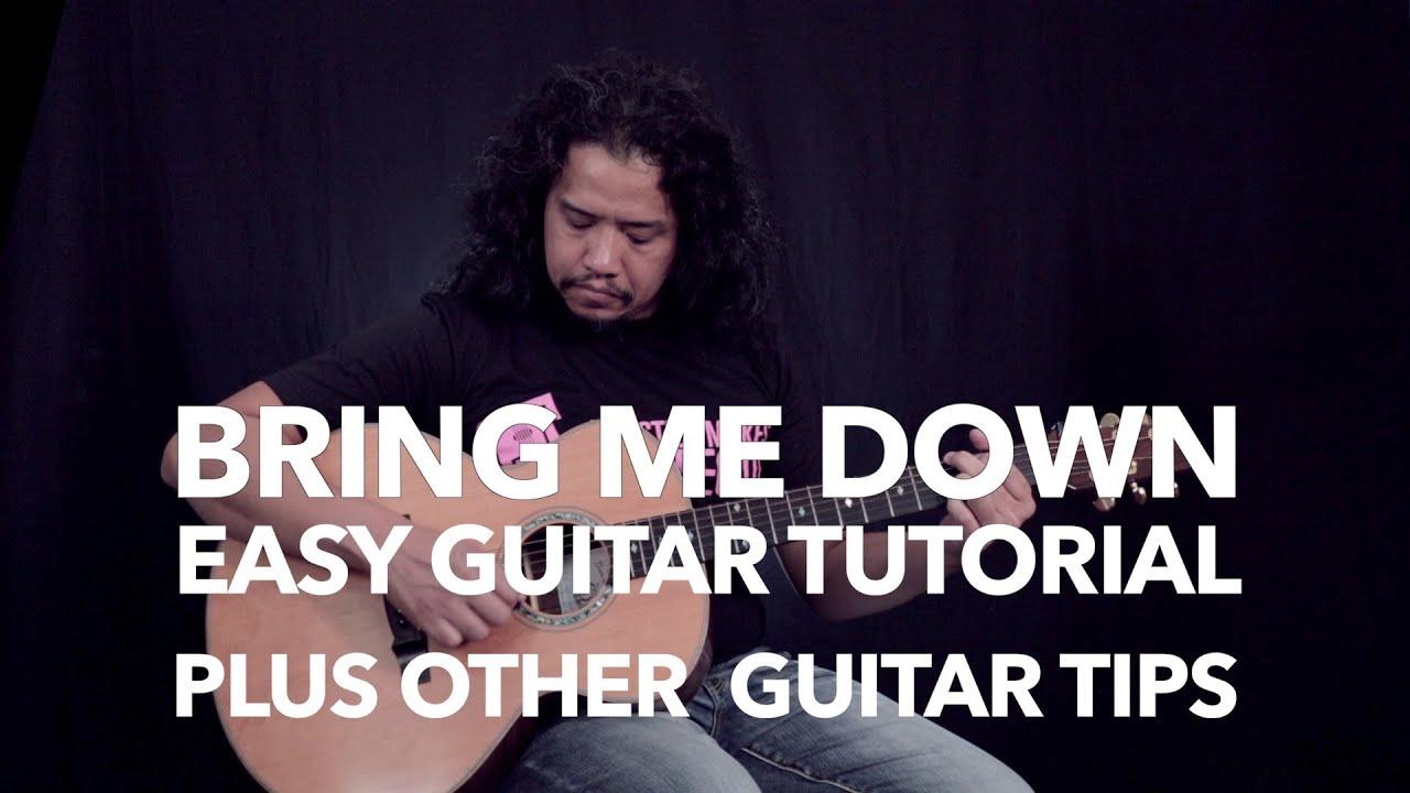 """""""Bring Me Down"""" (Rivermaya) Easy Guitar Tutorial + Acoustic Guitar Tips"""