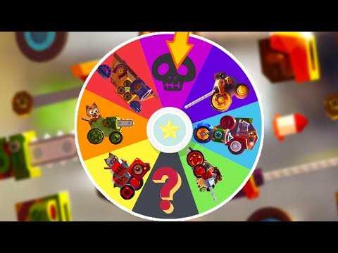 CATS | RANDOM OVERPOWERED CARS CHALLENGE | CRASH ARENA TUBRO STARS