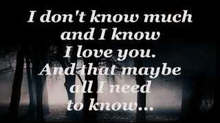 Video DON'T KNOW MUCH (Lyrics) - LINDA RONSTADT / AARON NEVILLE MP3, 3GP, MP4, WEBM, AVI, FLV April 2018
