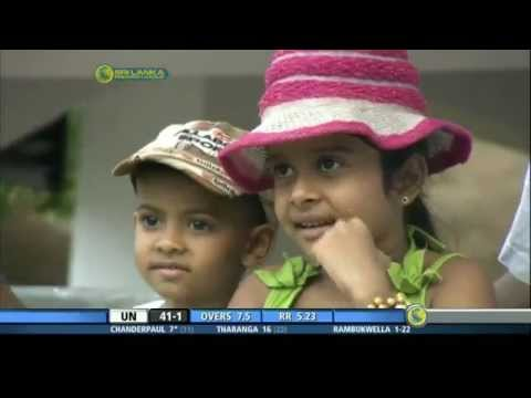 Thisara Perera's six and SL's winning moment vs Australia, Match 9, Hobart, CB Series, 2012