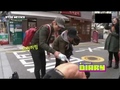 [SUB ESP]BTOB B + DIARY [EP 1] [3/4] (видео)