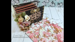 Pocket Mini Album and Giveaway Winner Announcement. This pocket mini album was made using the Stacey Caron Design dies ...