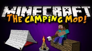 Minecraft: The Camping Mod - TENTS, CAMPFIRES,&MORE! (HD)