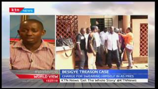 World View: Besigye threatens to defy attending treason case 13/10/2016