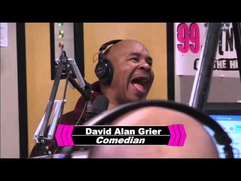 Comedian David Alan Grier Stops by the Morning Show! pt.2
