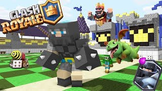 Video Monster School : Clash Royale Red King Legendary Deck - Minecraft Animation MP3, 3GP, MP4, WEBM, AVI, FLV November 2017